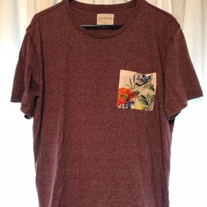 Men's On The Byas printed pocket tee